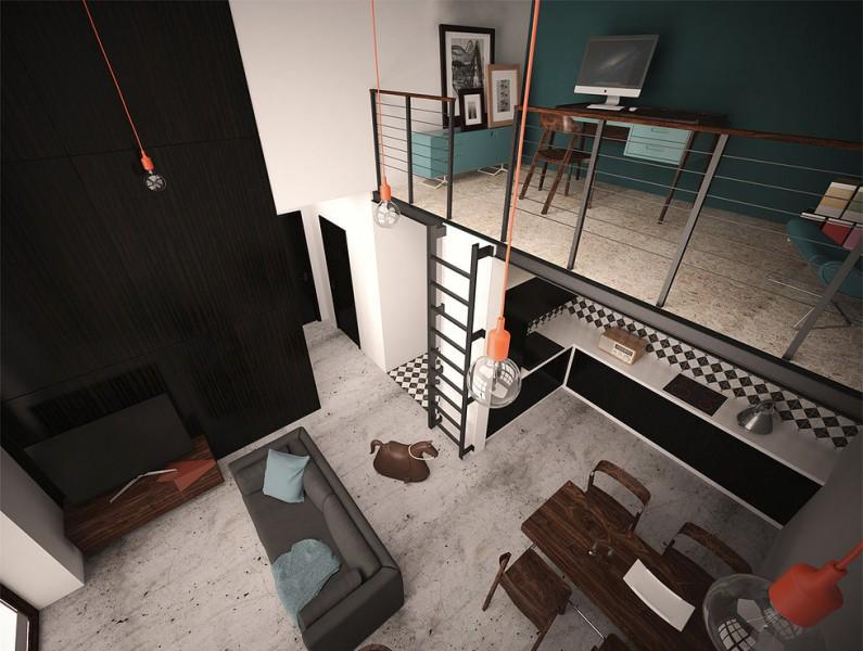file.mieszkanie zródło 3 Apartament 2+1, Anna Kazecka