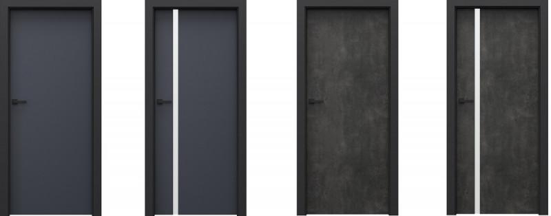 Porta LOFT 1.1 i 4.A antracyt i beton ciemny
