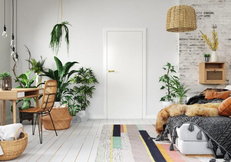 PortaVECTOR_białe drzwi styl BOHO